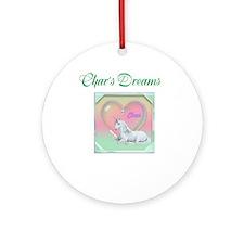 Char's Dreams Ornament (Round)
