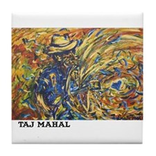 Taj Mahal Painting Tile Coaster
