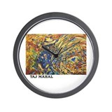 Taj Mahal Painting Wall Clock