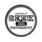 Geek University Wall Clock