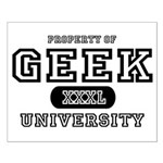 Geek University Small Poster