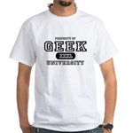 Geek University White T-Shirt