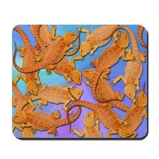 Bunches of Beardies Mousepad