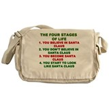 Cute Grandpa christmas Messenger Bag