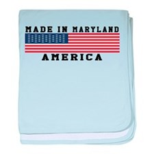Made In Maryland baby blanket