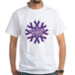 GIST Cancer Sucks White T-Shirt