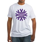 GIST Cancer Sucks Fitted T-Shirt