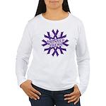 GIST Cancer Sucks Women's Long Sleeve T-Shirt