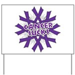 GIST Cancer Sucks Yard Sign