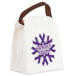 GIST Cancer Sucks Canvas Lunch Bag