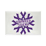 GIST Cancer Sucks Rectangle Magnet