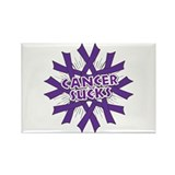 GIST Cancer Sucks Rectangle Magnet