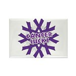GIST Cancer Sucks Rectangle Magnet (100 pack)