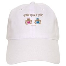 Grandfather Of Twins- Boy/Girl Baseball Cap