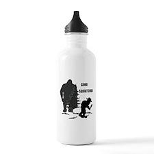 Gone Squatchin print Water Bottle