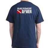 Salvage Diver 3 (black) T-Shirt