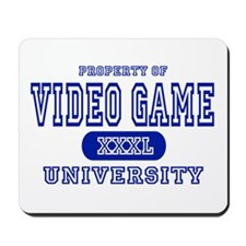 Video Game University Mousepad