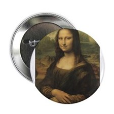 "Mona Lisa 2.25"" Button (10 pack)"