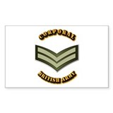 UK - Army - Corporal Decal