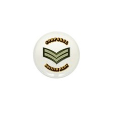 UK - Army - Corporal Mini Button (10 pack)