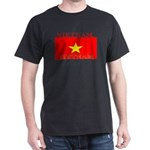 Vietnam Vietnamese Flag Black T-Shirt