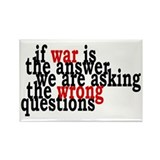 War Is The Answer To The Wrong Questions Rectangle