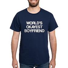 World's Okayest Boyfriend T-Shirt