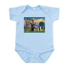 St Francis & Two Aussies Infant Bodysuit