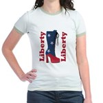 Liberty Jr. Ringer T-Shirt