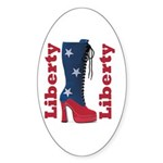 Liberty Oval Sticker