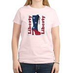 Liberty Women's Pink T-Shirt