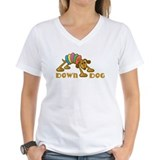 Down Dog Ash Grey T-Shirt