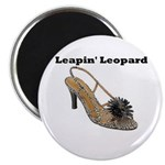 Leapin' Leopard Magnet