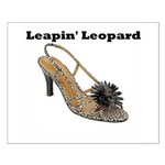 Leapin' Leopard Small Poster