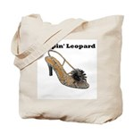 Leapin' Leopard Tote Bag