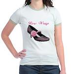 Rose Wrap Jr. Ringer T-Shirt