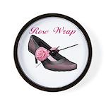 Rose Wrap Wall Clock