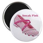 Sneak Pink Magnet