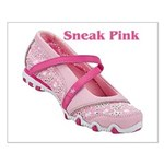 Sneak Pink Small Poster