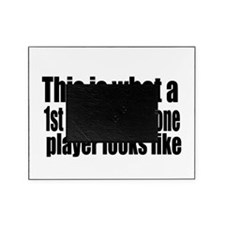 1st Chair Player Picture Frame