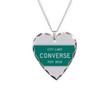 Converse, Texas City Limits Necklace