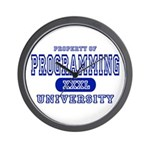 Programming University Wall Clock