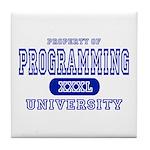 Programming University Tile Coaster