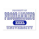 Programming University Mini Poster Print