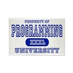 Programming University Rectangle Magnet