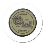 Carbon Canyon Joint Task Force Round Car Magnet