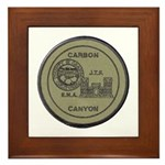 Carbon Canyon Joint Task Force Framed Tile
