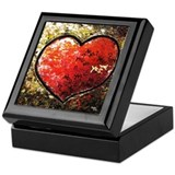"""Chaos in Heart"" Keepsake Box"