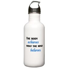 What The Mind Believes Water Bottle