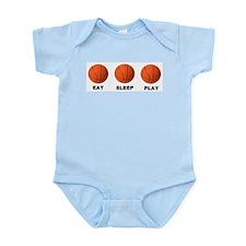 Basketball EAT SLEEP PLAY LITE Body Suit